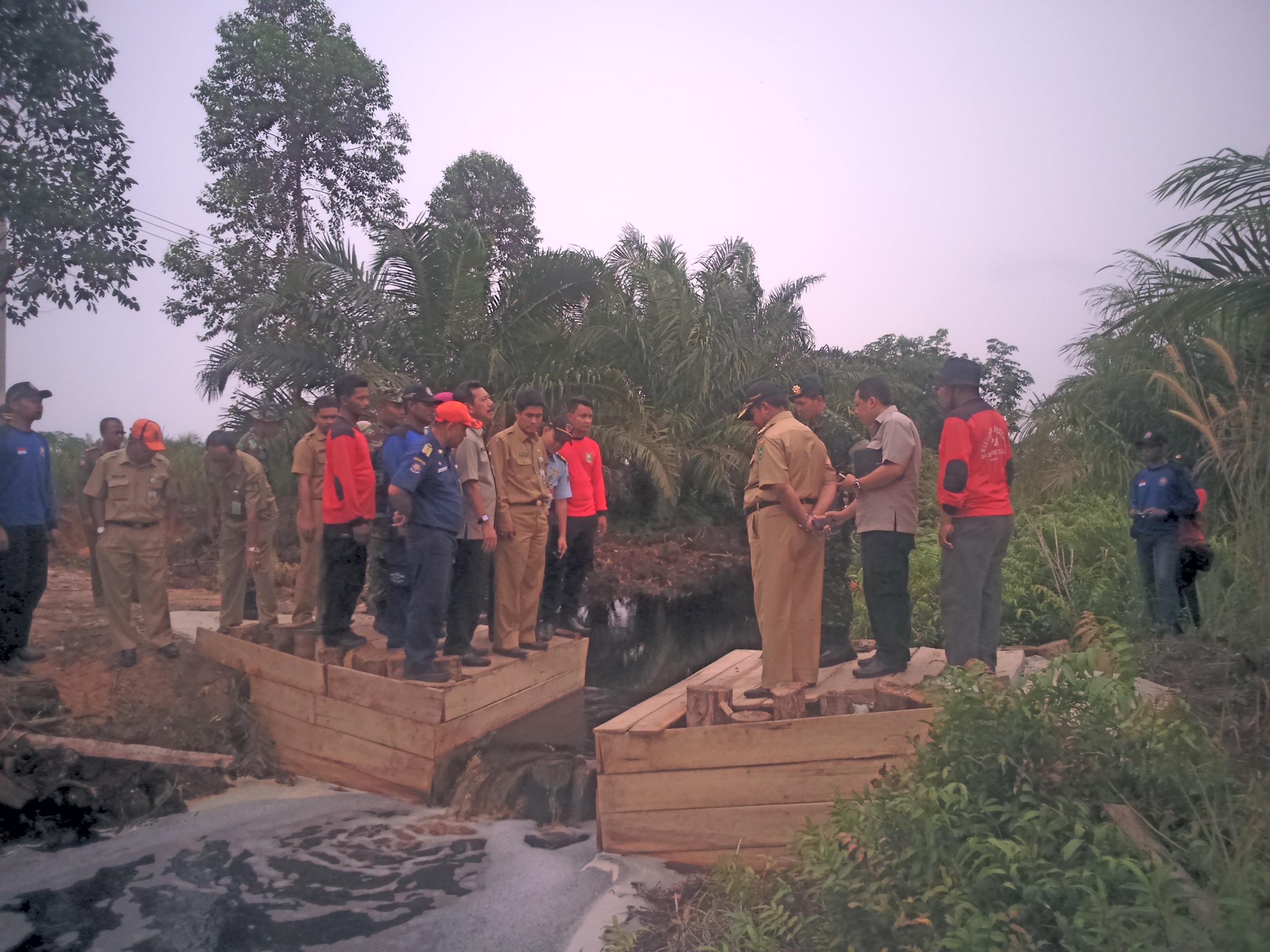 Peninjawan Sekat Kanal